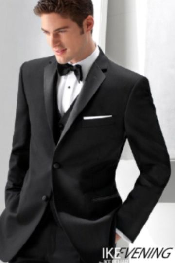 Ike Behar Slim Fit Tuxedo with matching non-pleated slim fit pants