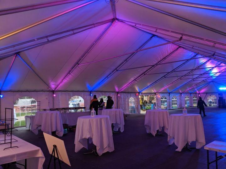 Custom Tent Lighting