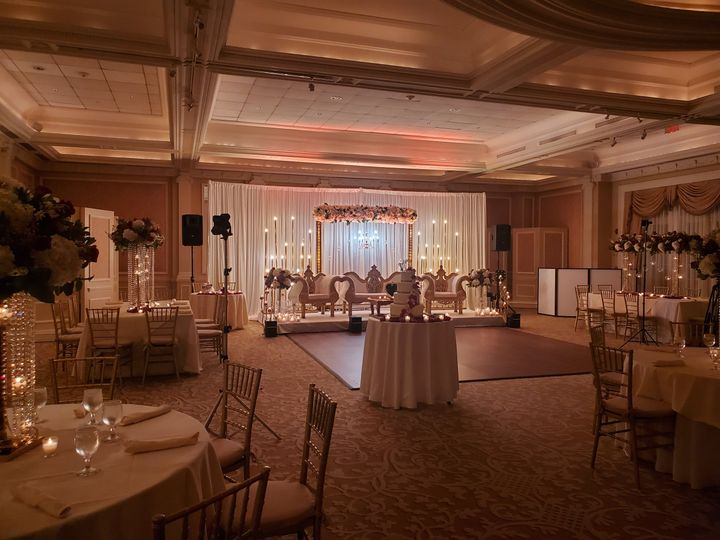 Tmx Ball Room Stage Couches Back 51 966680 160719498410938 East Norwich, NY wedding venue