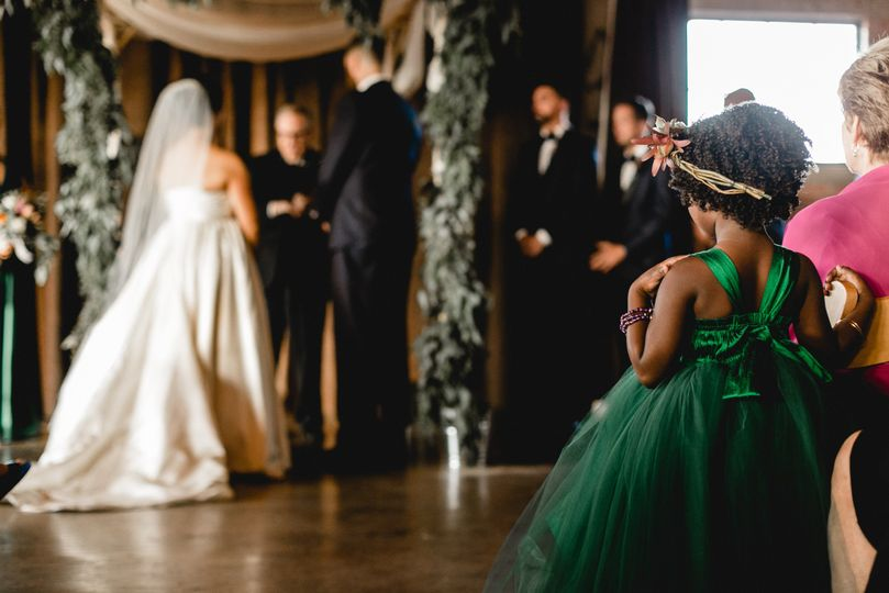 Flower Girl, Jewish wedding