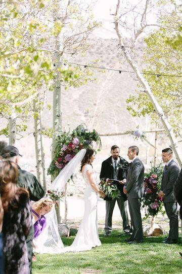 May Aspen Grove Ceremony