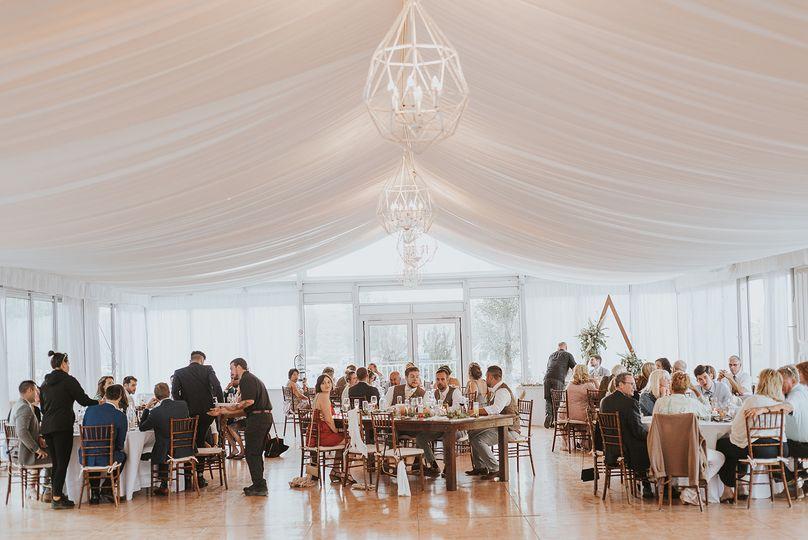 40 guest reception