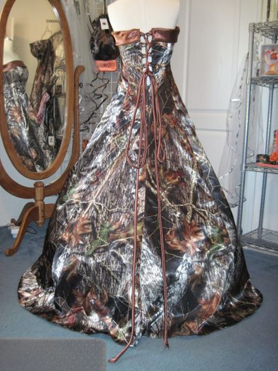 Full camo gown