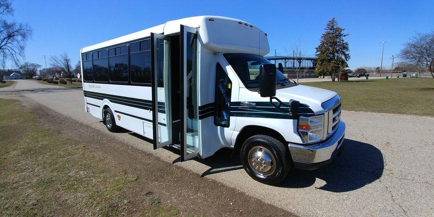 18-passenger limo bus
