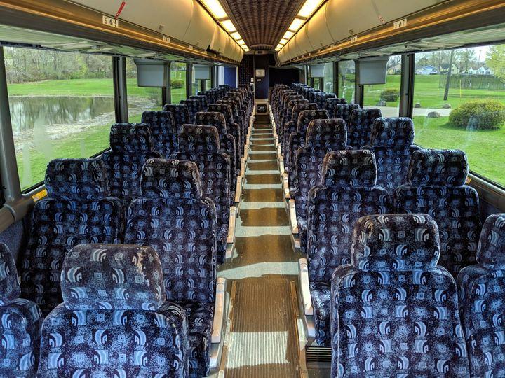 Motorcoach Interior