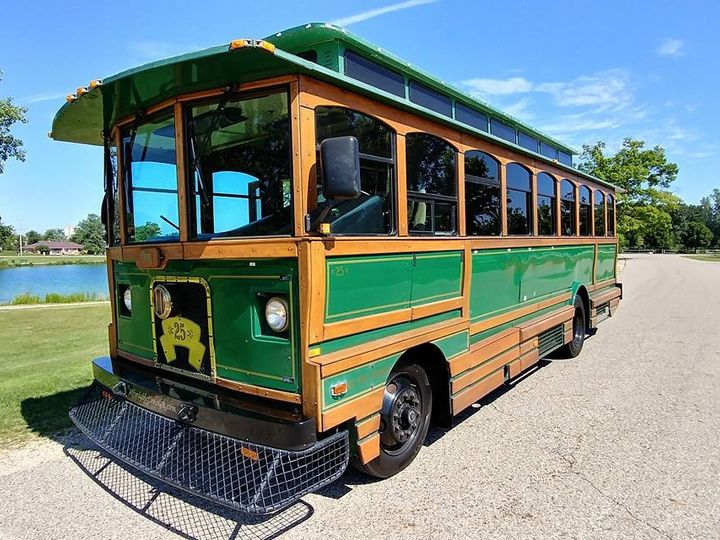 Tmx 25 Trolley Exterior 51 130780 1568660440 Grand Rapids, MI wedding transportation