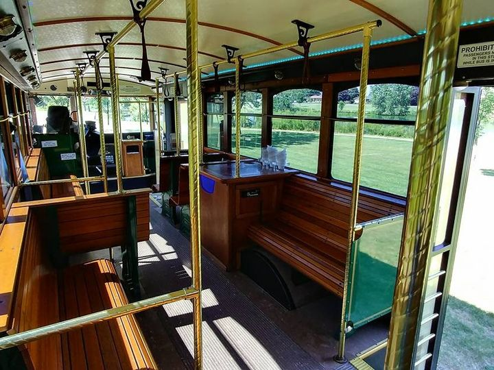 Tmx 25 Trolley Interior 51 130780 1568660438 Grand Rapids, MI wedding transportation