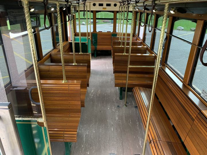 Tmx 27 Trolley Interior 1 51 130780 1568660452 Grand Rapids, MI wedding transportation