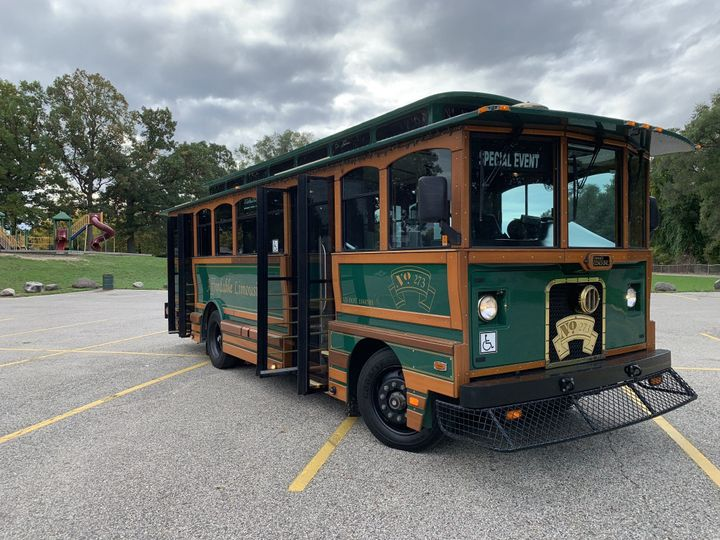 Tmx 27 Trolley Passenger Front 51 130780 1568660456 Grand Rapids, MI wedding transportation