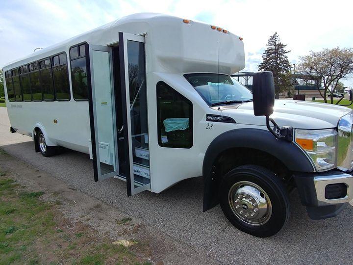 Tmx 28 Passenger Front 51 130780 1568660459 Grand Rapids, MI wedding transportation