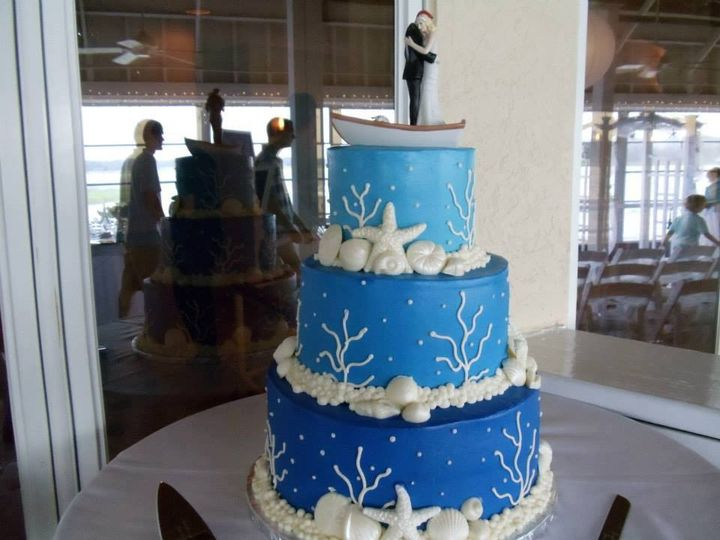 Tmx 1435780955936 653246104879156511121467070094n 2 Virginia Beach wedding cake