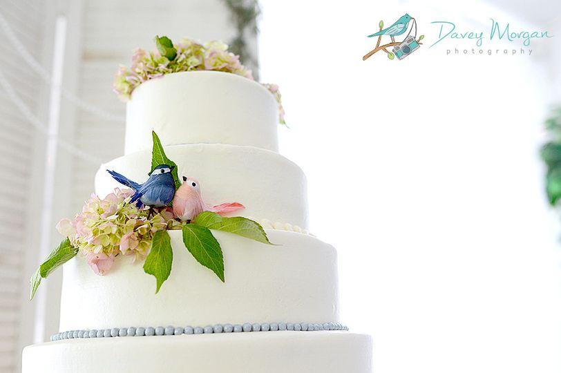 margaret and trevor wedding cake 2