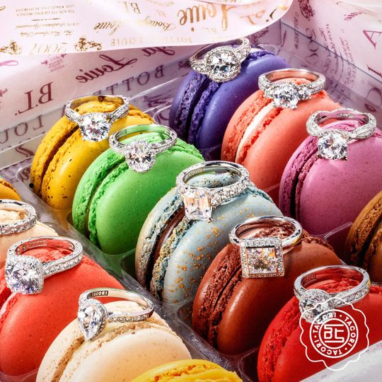 Rings and macarons