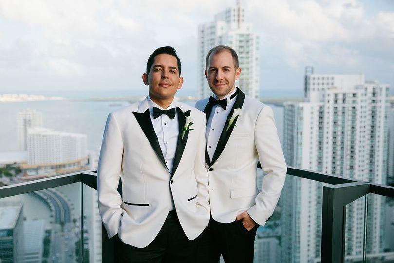 Gay Wedding at EAST