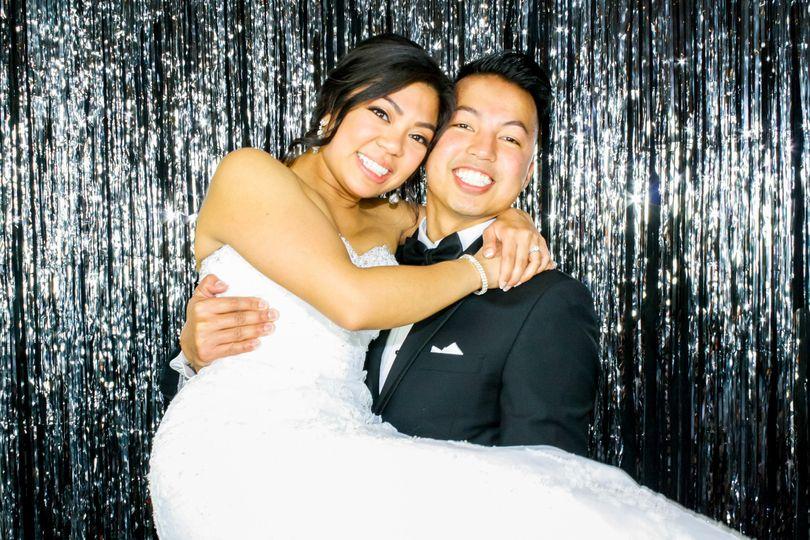 Sweet newlyweds photo
