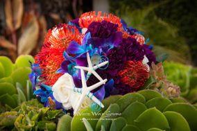 Shell Beach Floral Design by Amanda