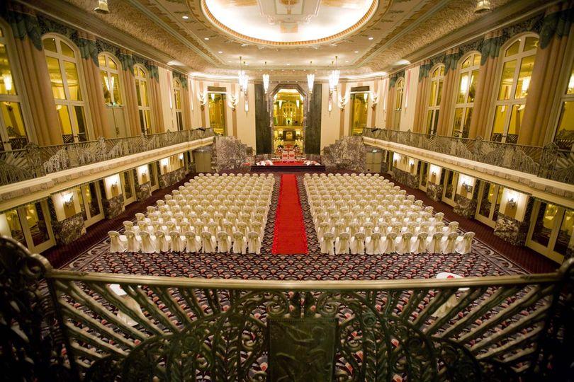 Hall of mirrors ballroom