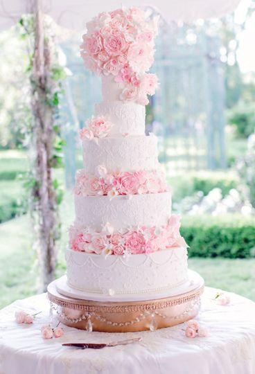 Romance and sugar flowers galore