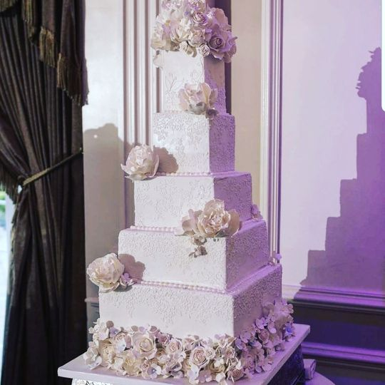 The rockleigh wedding cake