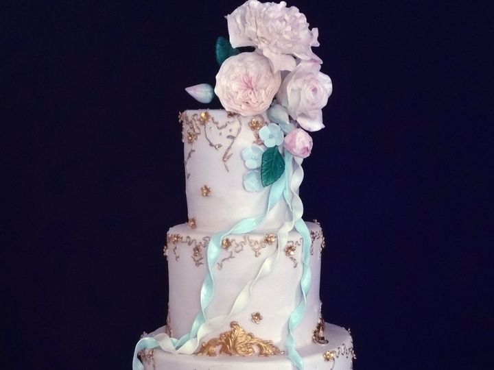 Tmx 1483906419931 Kirakyle Dumont, New Jersey wedding cake
