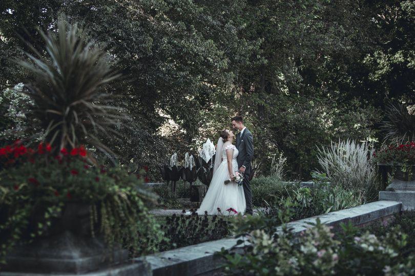 Bride & Groom wedding day