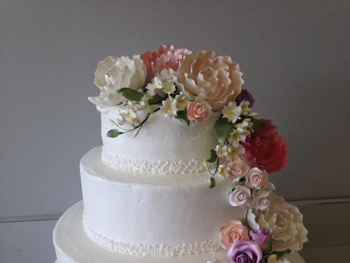 Tmx 1405476786913 Weddingcake3 Richboro wedding cake