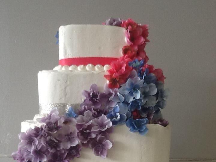Tmx 1405477086759 Weddingcake6 Richboro wedding cake
