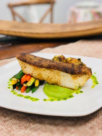Chilean Seabass/Veggie Bundle