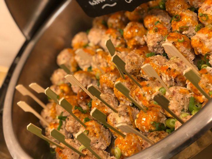 Tmx App Buffalo Chicken Meatballs 2018 1 51 745780 1571776969 Gaithersburg, MD wedding catering