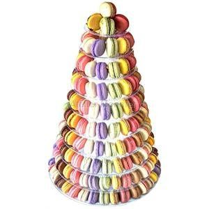 For a big Celebration or party. The macaron tower has up to 10 levels and can contain up to 195...