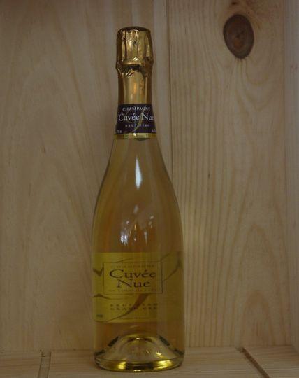 """Champagne Louis de Sacy  """"Cuvée Nue""""   www.ateliermonnier.com"""