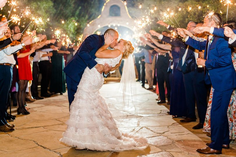 A grand wedding celebration