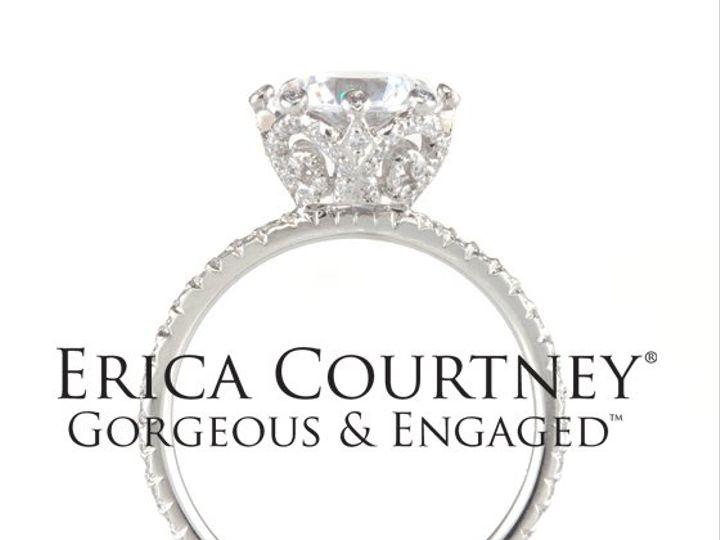 Tmx 1275691143451 PlatinumanddiamondroundEllenringbyEricaCourtneyGorgeousandEngagedbiglogo Los Angeles wedding jewelry