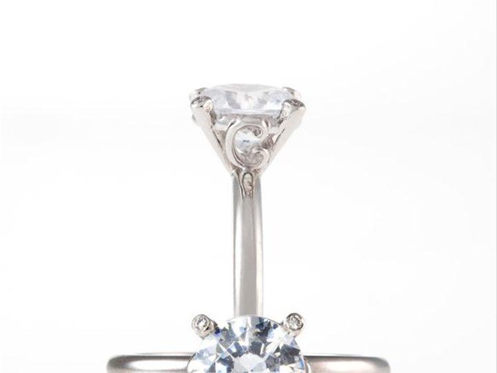 Tmx 1275691153373 PlatinumMartiniringdoubleviewloresbyEricaCourtneyGorgeousandEngagedcopy Los Angeles wedding jewelry