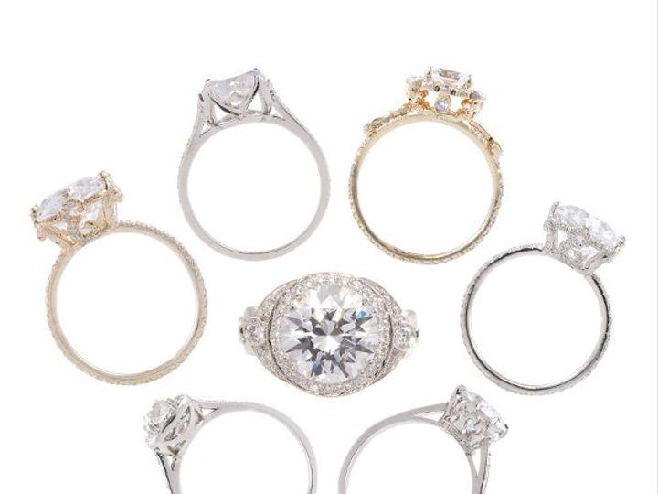 Tmx 1275691239170 RingArraybyEricaCourtneyGorgeousEngagedtm Los Angeles wedding jewelry