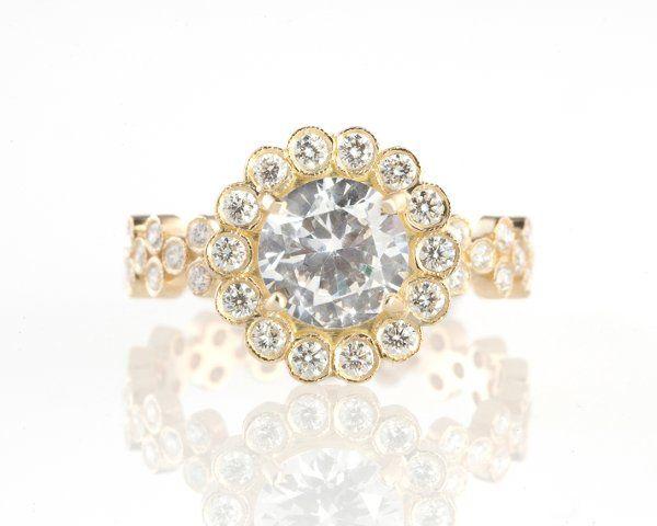Tmx 1275691707873 18kgoldanddiamondCristinaringbyEricaCourtneyGorgeousandEngaged Los Angeles wedding jewelry