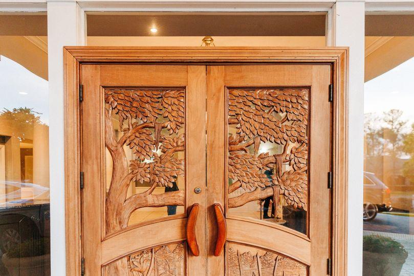 Front Drive - Wooden Doors