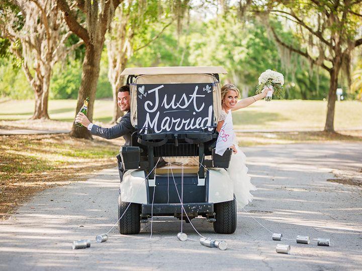 Tmx 1496264825166 Golf Cart Just Married Oldsmar, FL wedding venue