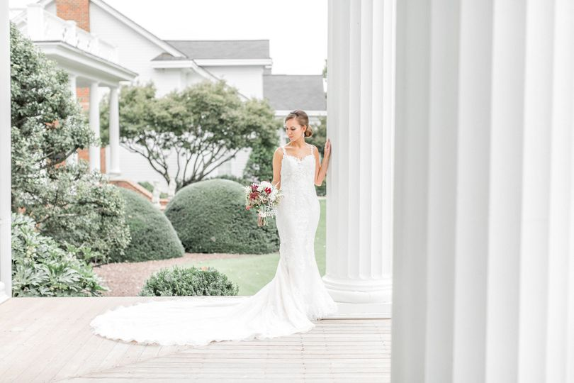 rose hill plantation bridal portrait session nas
