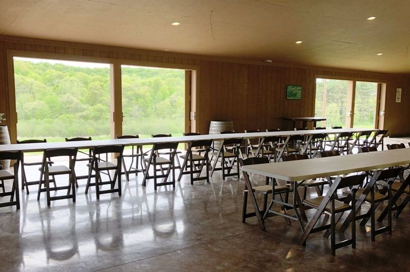 The Grand Pavilion can seat up to 300.