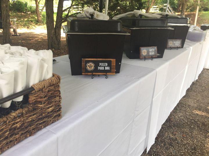 Tmx Basic Buffet Set Up 51 908780 Farmville, VA wedding catering