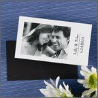 business card size save the dates