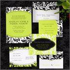 Tmx 1332944201238 DamaskInviteEnsemble Wauwatosa, WI wedding invitation