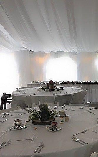 All white setup