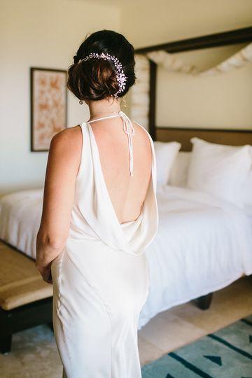 Bride in Mexico
