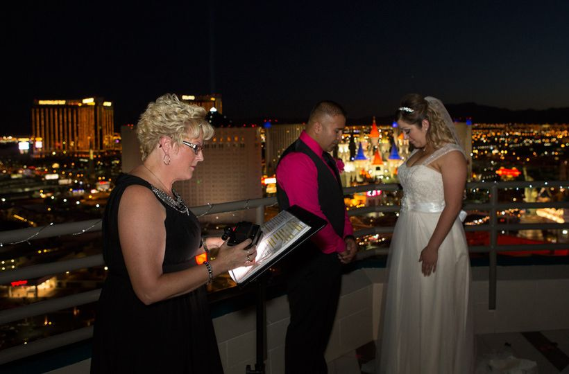 MGM Suite Wedding, Las Vegas