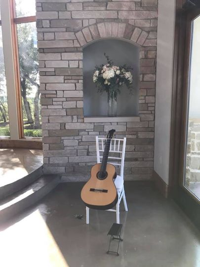 Guitar at the ceremony