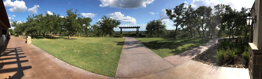 Beautiful day for a wedding!
