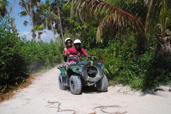 ATV tour in the Riviera Maya