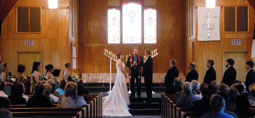 Rachel & Tick, Community Reformed Church, Charlevoix
